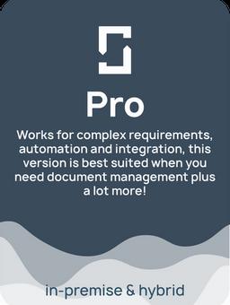ShareDocs Enterpriser Pro version