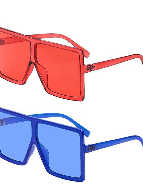 Blocker Shade ' (set of 2) red/ blue