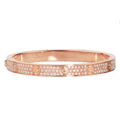 Luxury Rose Gold Bangles