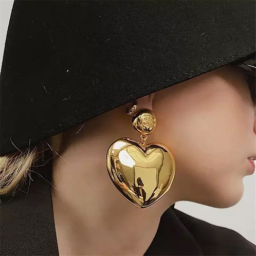 Heart Of Gold| earring