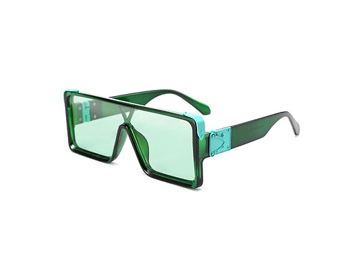 Shady Brim sunglasses ' green