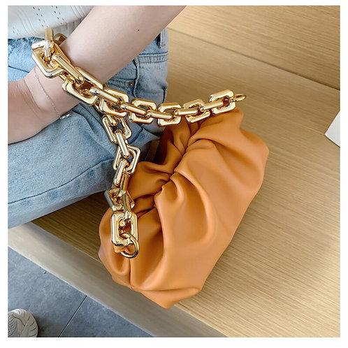 Chain Reaction Bag ' soft orange'