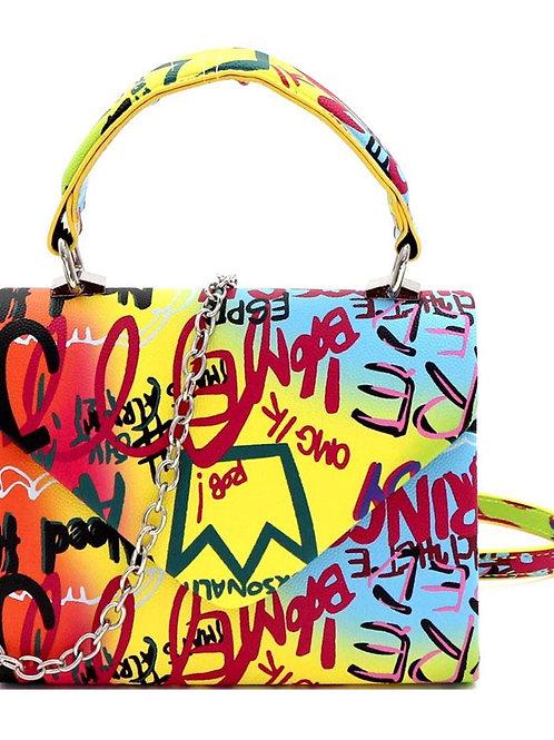 Scribble Me Baby' Mini bag