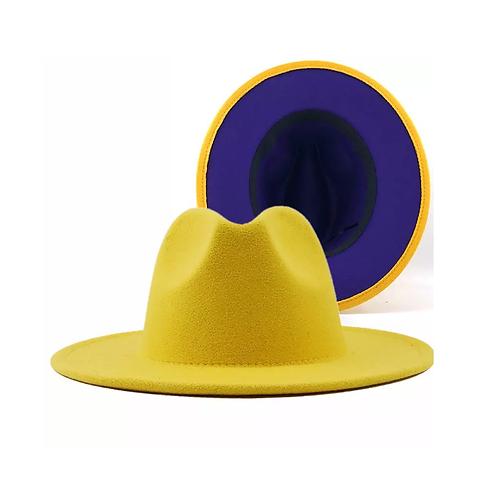 Phoneix ' Fedora yellow/ purple