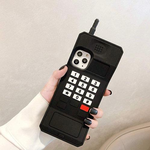 90's Baby ' black phone case