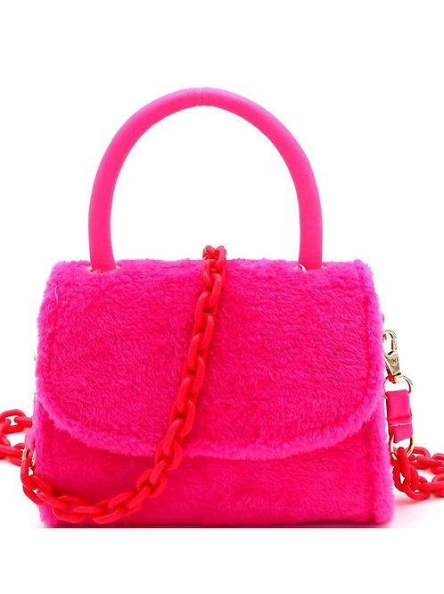 Gabby pink ' handbag