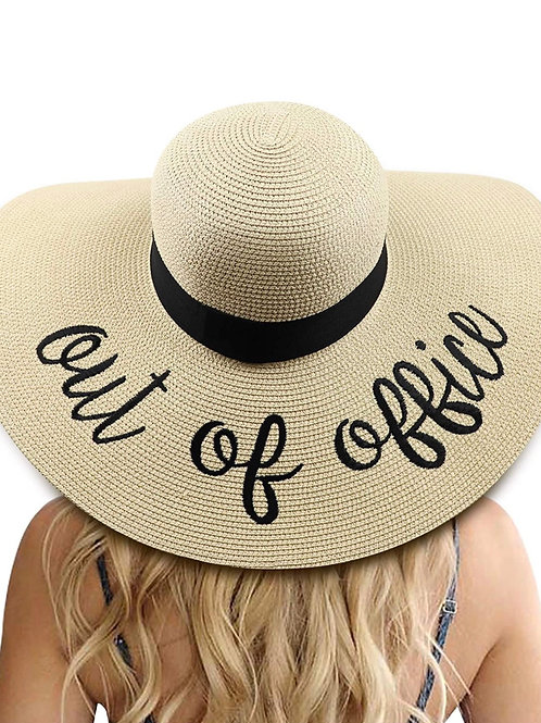 I'M Out Beach Hat