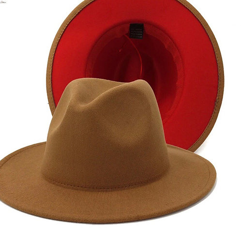 Fedora ' Brown/ Red hat