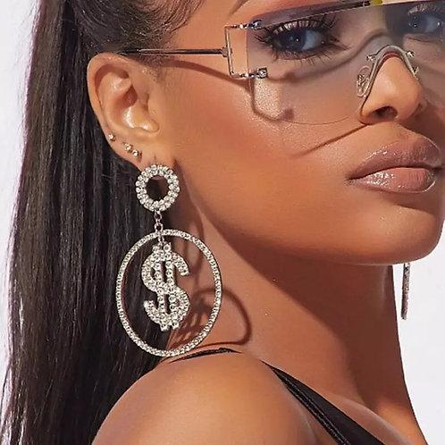 Money money' | earrrings