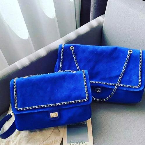 The Fashion Hobo Bag' Blue