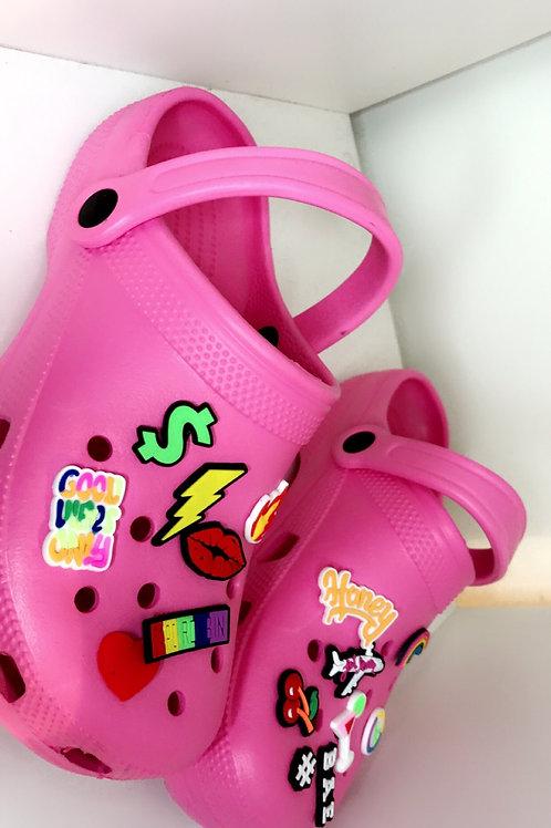 Emoji Croc Style'Pink