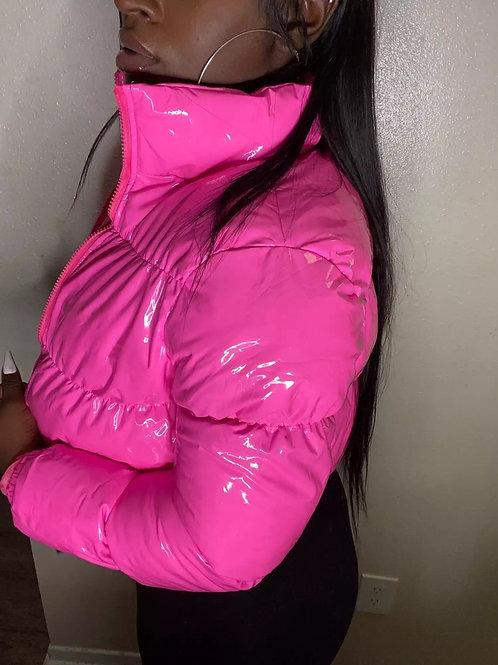 Bubble Me' Crop Top Jacket