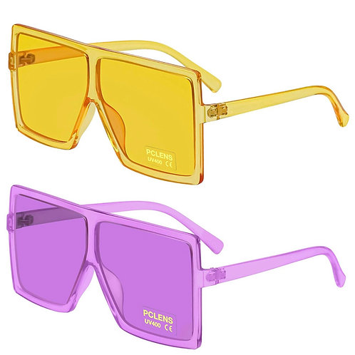 Blocker Shade ' (set of 2) purple/yellow