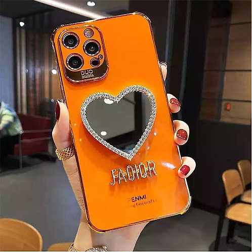 Mia'Moore Dior case' orange