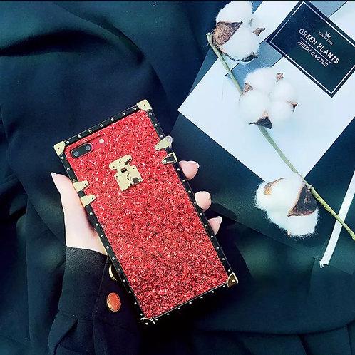 Trunk Fit ' Glitter Red Phone case
