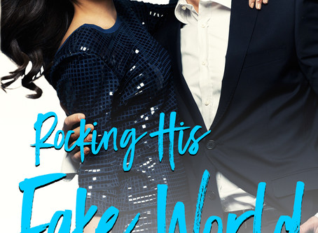 Rocking His FAKE World Cover Reveal!