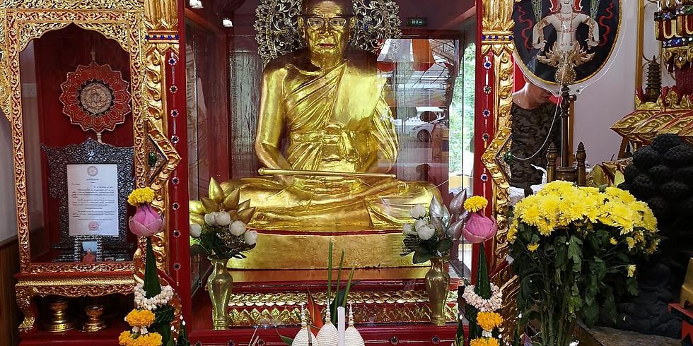 Luang Por Khron (Ah Kong) Memorial Service 纪念窿婆混(师公)法会 Tentatively Cancelled