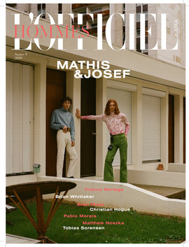 L'OFFICIEL HOMMES SS20 ISSUE