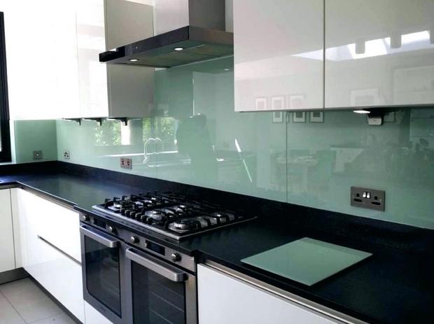 Glass panel kitchen new