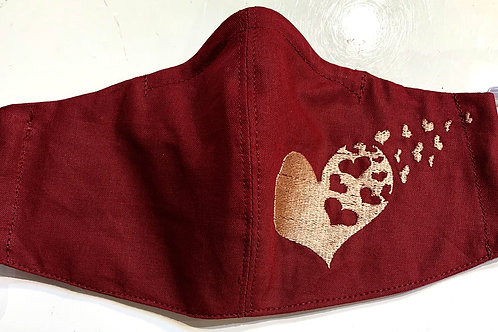 Facy Maske Flying Hearts