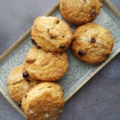 fruited scones