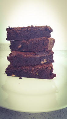 tripple choclate brownie