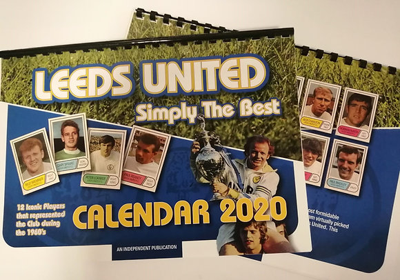 Leeds United  2020 Calendar - Simply The Best
