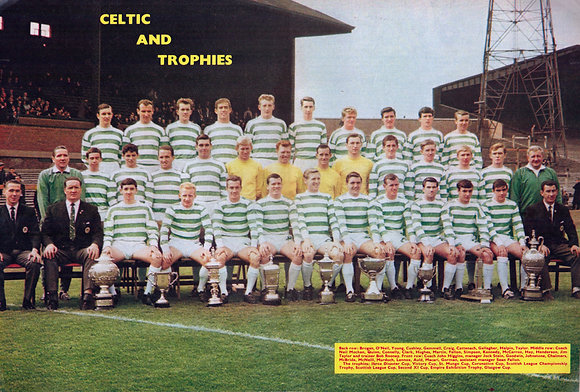 Celtic Team Printed Posters from