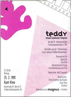 91_Teddy_Poster_Anzeige