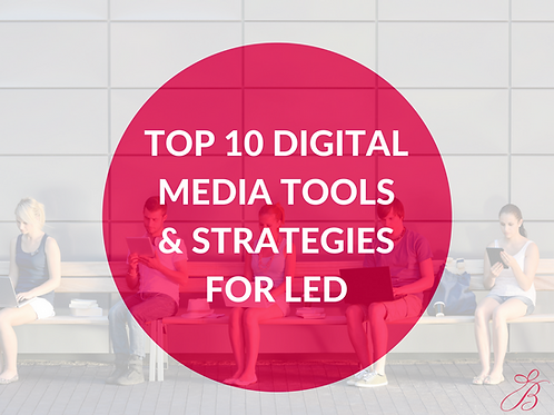 Top 10 Digital Media Tools & Strategies for Local Economic Development