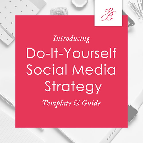 Social Media Strategy Template & Guide
