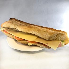Sandwich Crudités Jambon Emmental