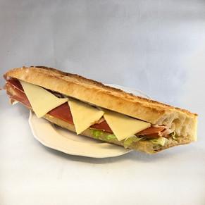 Sandwich Jambon Sec Mozza