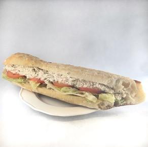 Sandwich Crudités Saumon