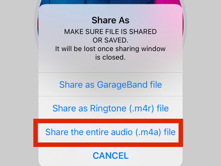 How to extract sound from video on iOS