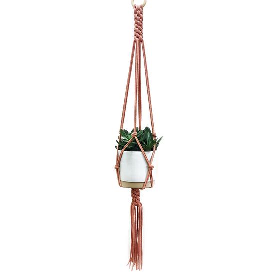 Macrame Plant Hanger [ Blush]