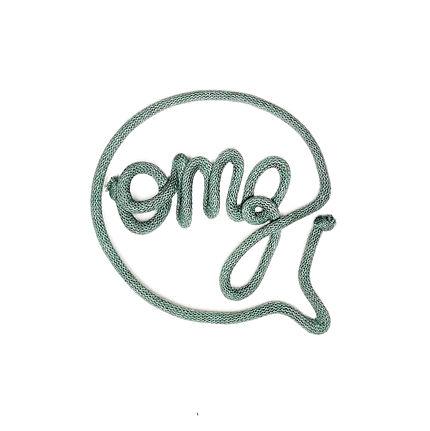 OMG word art