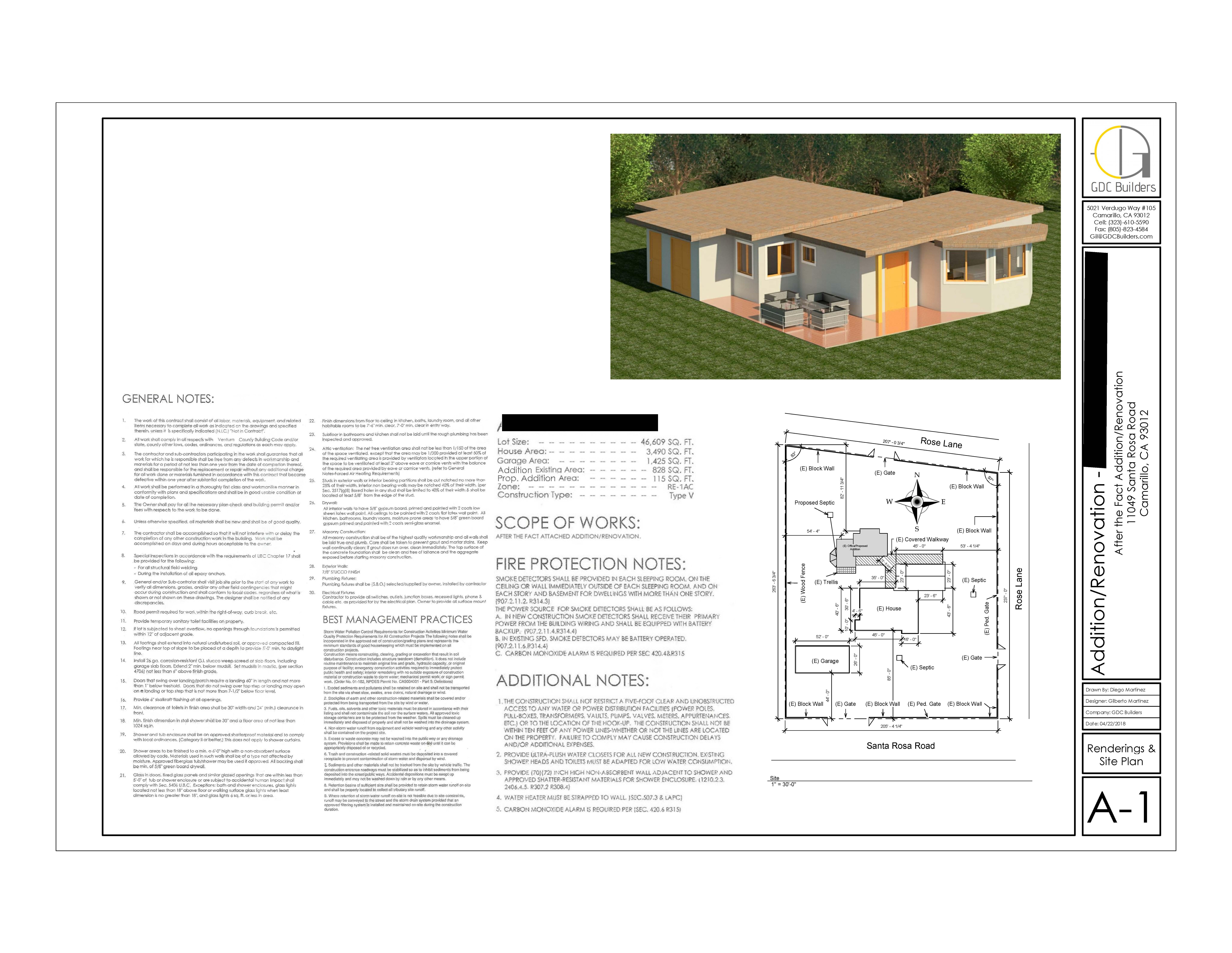 Rose 2361 (site plan)