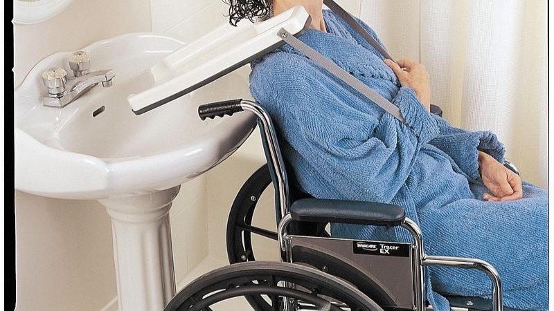 Plateau lave tête pour fauteuil