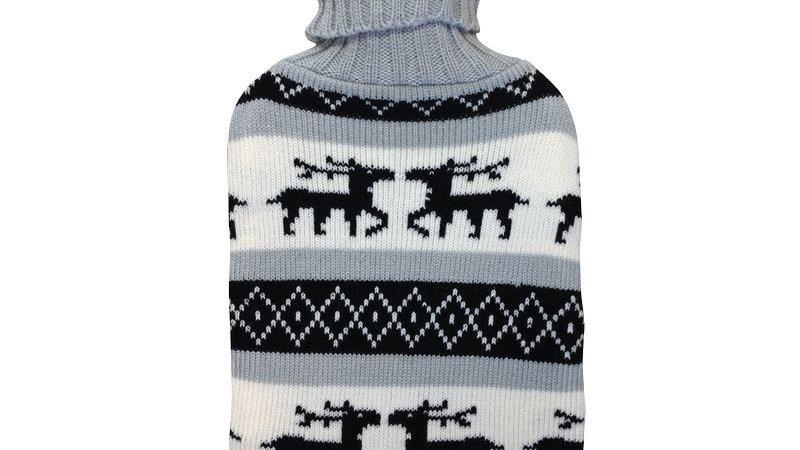 Bouillotte tricoté 2L