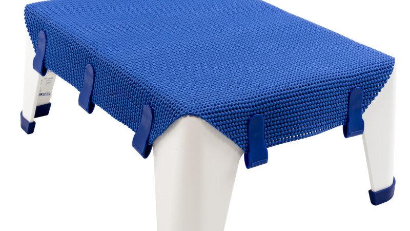 Marche pied Aquatec step bleu