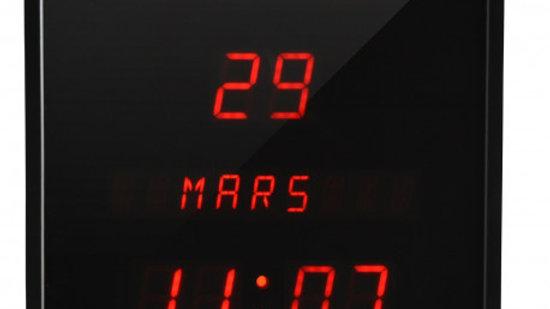 Horloge à date digitale,dim 28*28*4.2