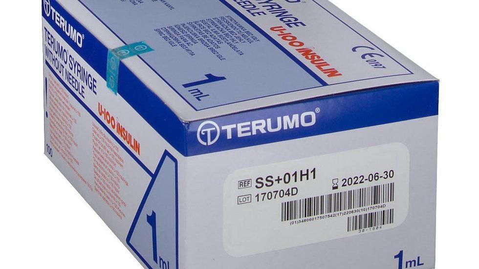 Seringue insuline nue 1cc 100 unités