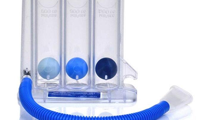 Spiromètre d'entrainement respiratoire
