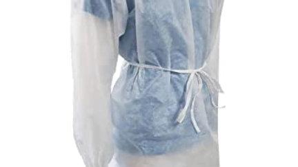 Sur-blouses blanches 18g  x10