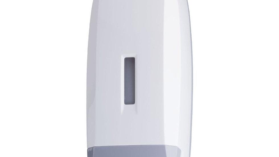 Pack Distributeur de savon liquide rechargeable 1L+ gel main bact 5l