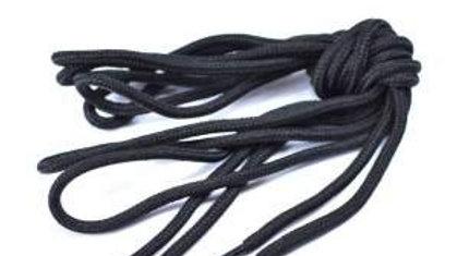 Lot 2 paires de lacets elastiques noirs