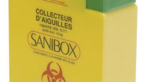 Collecteur d'aiguilles Sanibox 0.17L