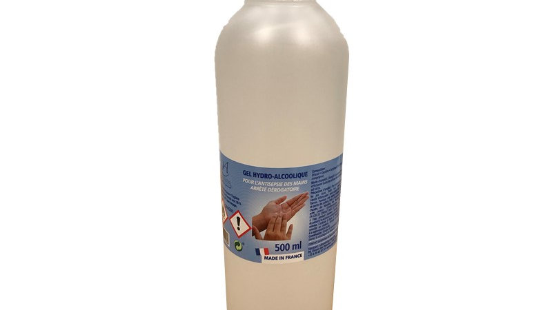 "Gel hydro-alcoolique  500ml ""ALGOVITAL"""