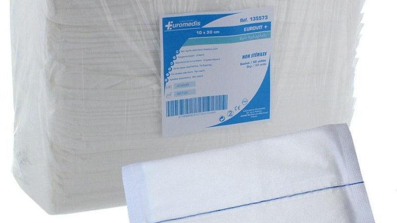 Compresse  Eurovit+ voile hydrophobe 15*20cm n.s